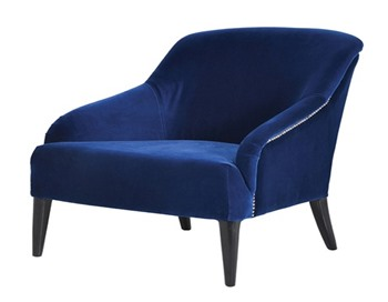 Heath Blue Occassional Chair