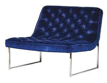 Giotto Navy Club Chair
