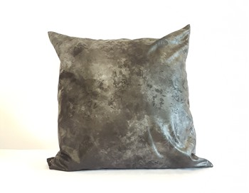 Black galaxy cushion cover