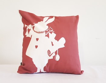 Alice in Wonderland - Rabbit Silhouette