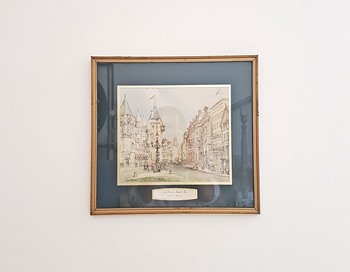 Vintage Law Courts Frame
