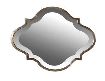 Wavy Edged Mirror