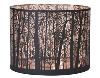 Copper Forest Candleholder