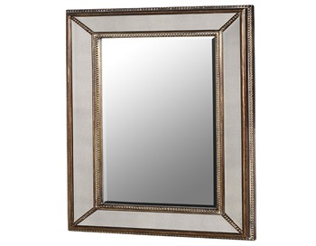 Bobble Frame Mirror